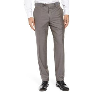 Ted Baker London NWT Taupe Wool Jefferson Pant